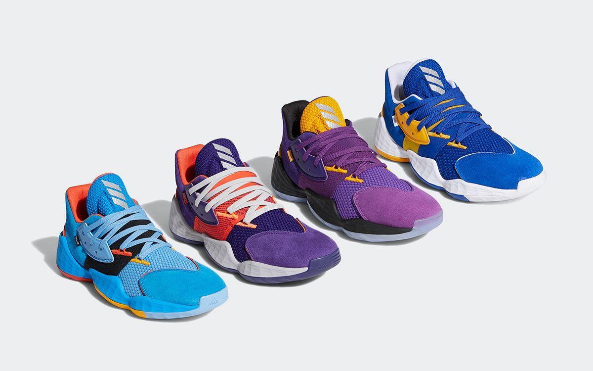 """Available Now // adidas Harden Vol. 4 """"Su Casa"""" Pack Celebrates Western Conference Rivals"""