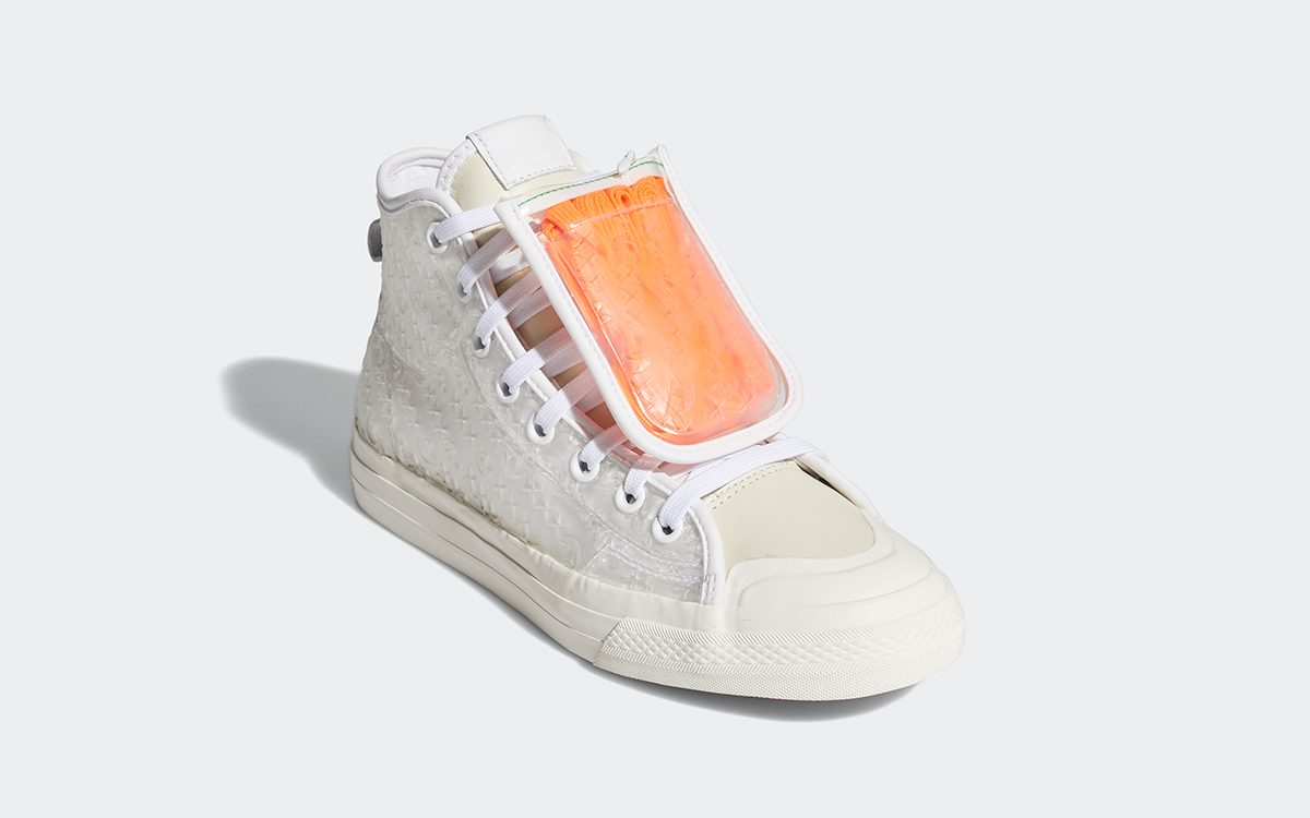 adidas Stack the Nizza with Clear Stash Pockets for 4/20