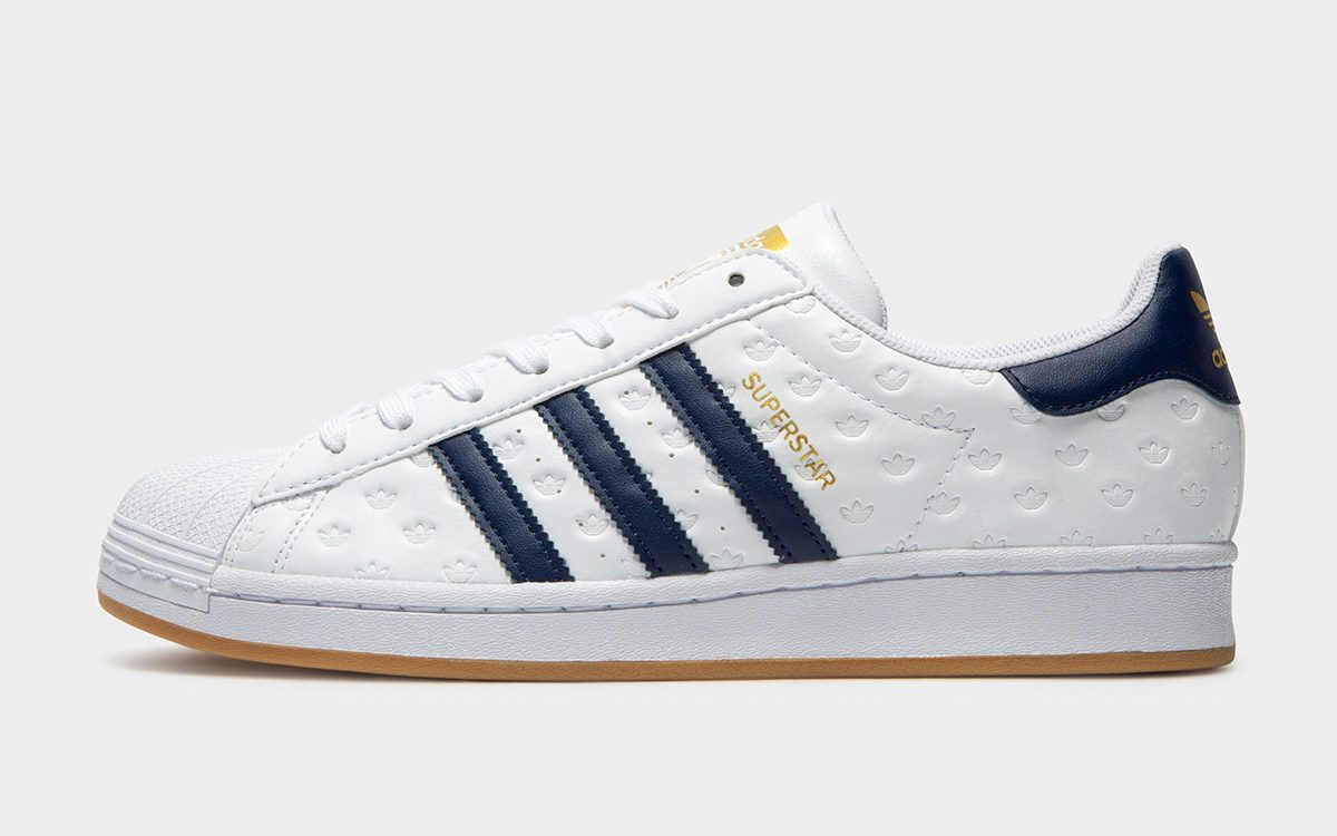 The Superstar Gets Gum-Soled and Debossed All-Over