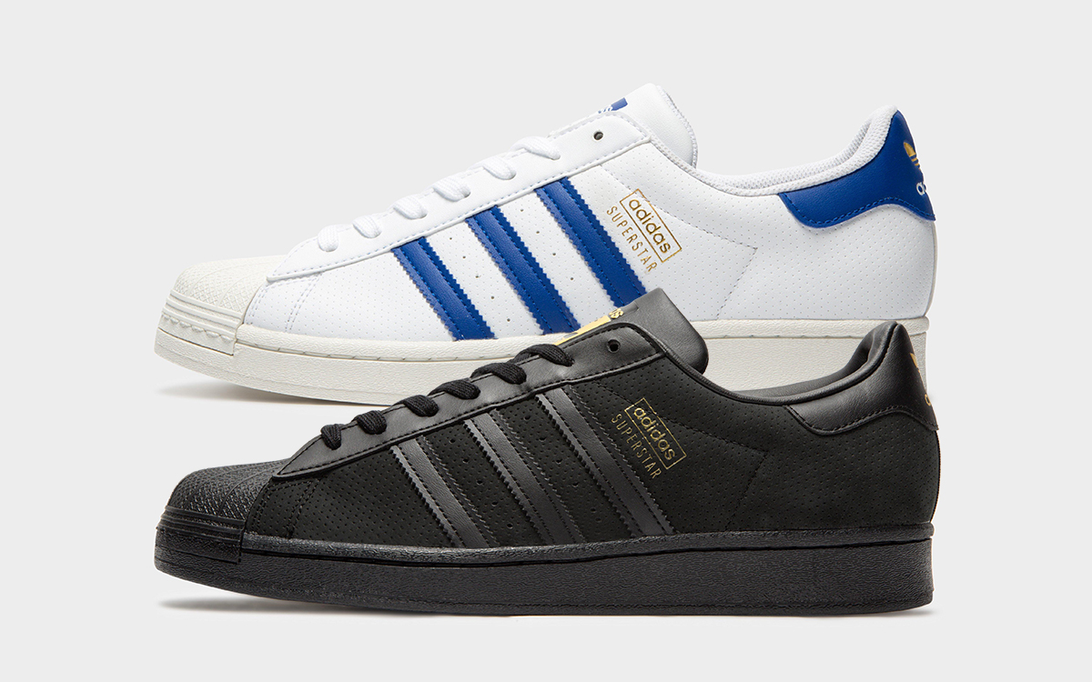 """adidas Superstar """"Perforated Pack"""