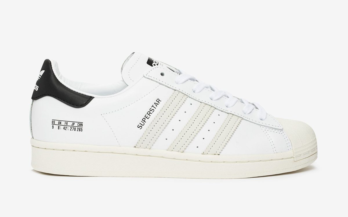 adidas Add Size Tag as a Decorative Detail on the Superstar