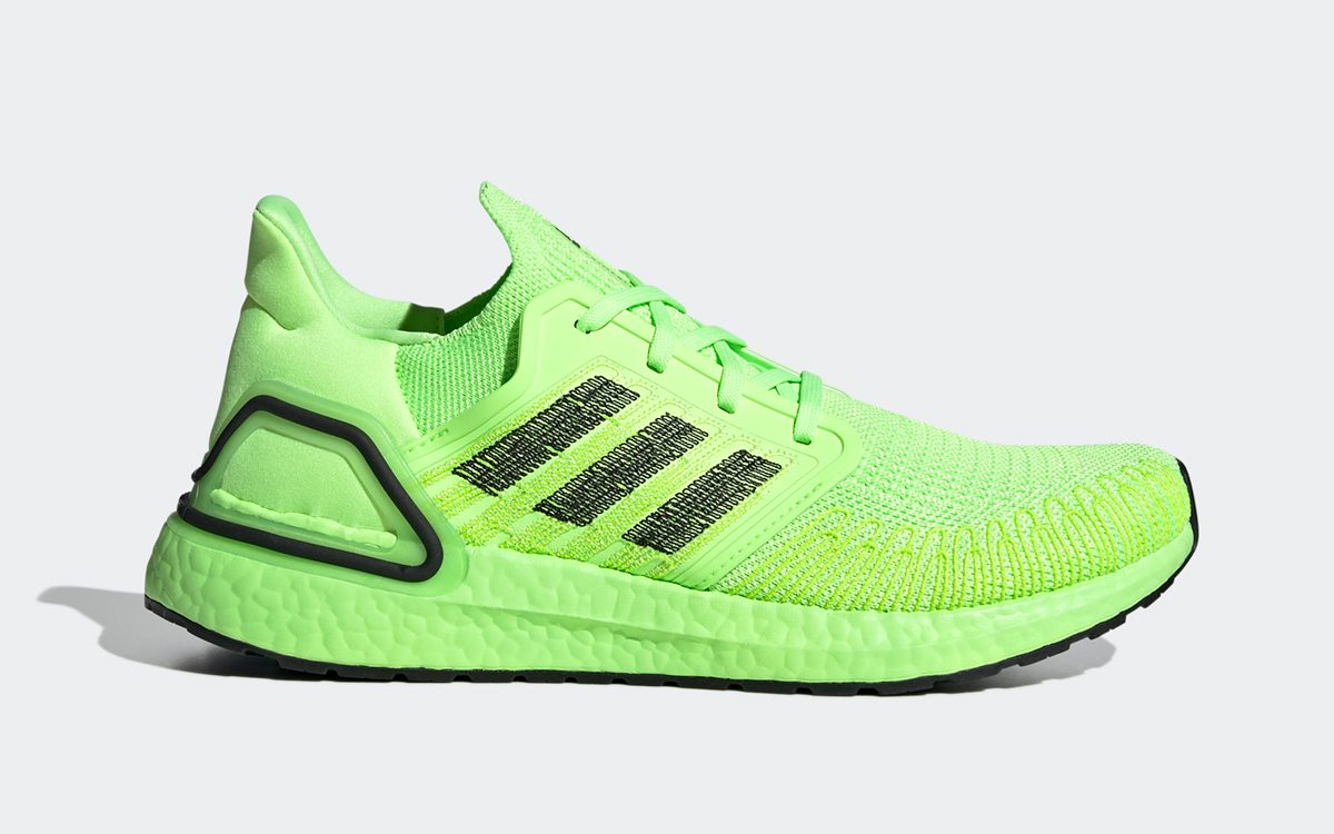 """""""Signal Green"""" adidas Ultra BOOST 20 Available Now!"""
