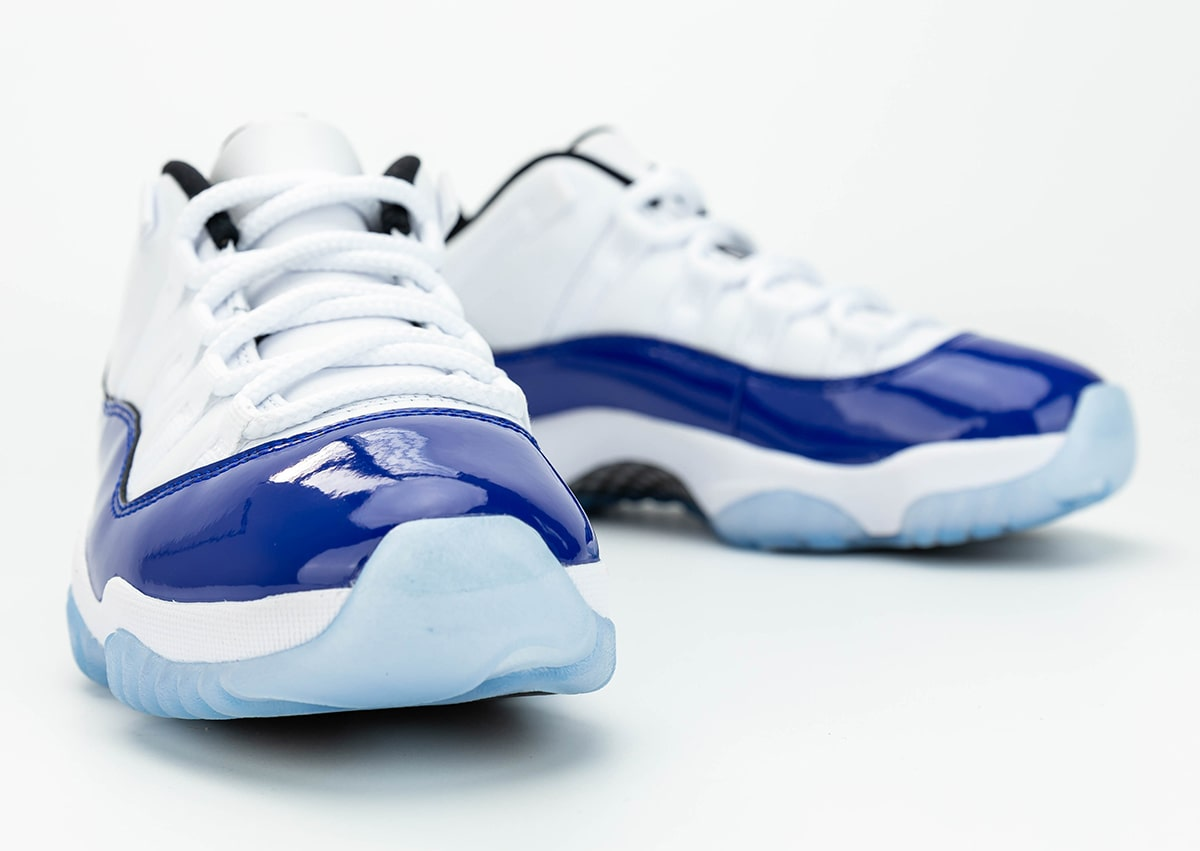 Where To Buy The Air Jordan 11 Low Concord House Of Heat Sneaker News Release Dates And Features