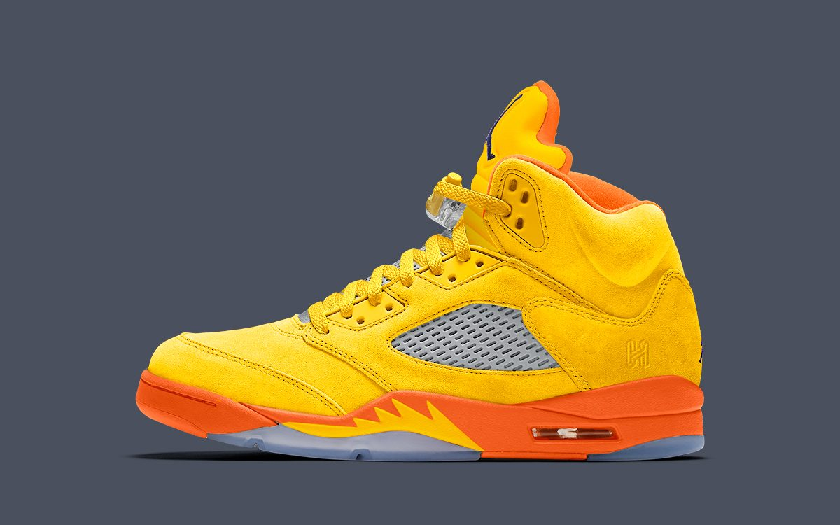 "Air Jordan 5 ""Solar Orange"" Arriving for Fall 2020"