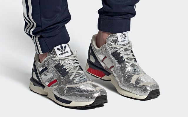 This Metallic Silver Concepts x adidas ZX 9000 is Out of This World! 🚀