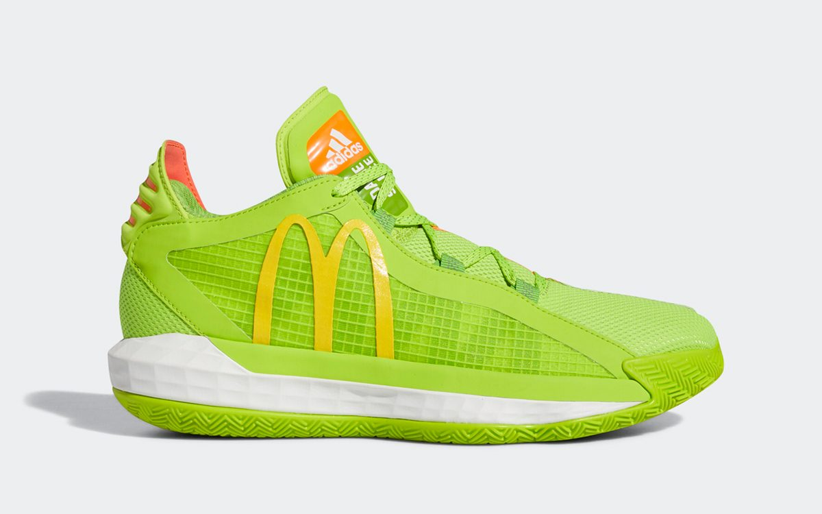 """adidas Deliver the McDonald's Dame 6 """"Dame Sauce"""""""