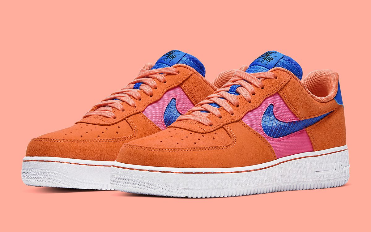 "Available Now // Nike Air Force 1 ""Orange Trance"""