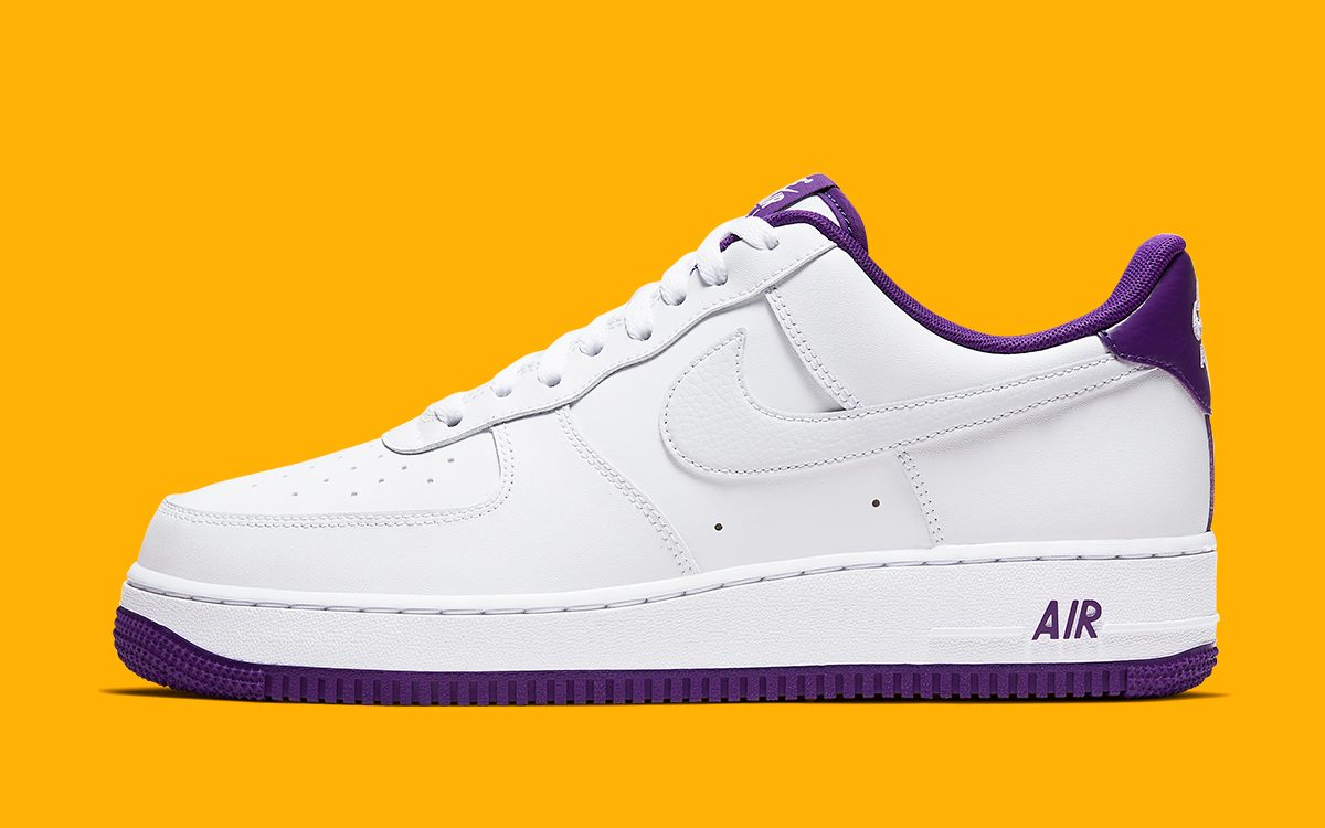 "Available Now // Air Force 1 Low ""Voltage Purple"""