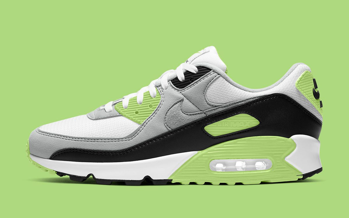 "Another OG-Blocked Air Max 90 Available in ""Moss Green"""