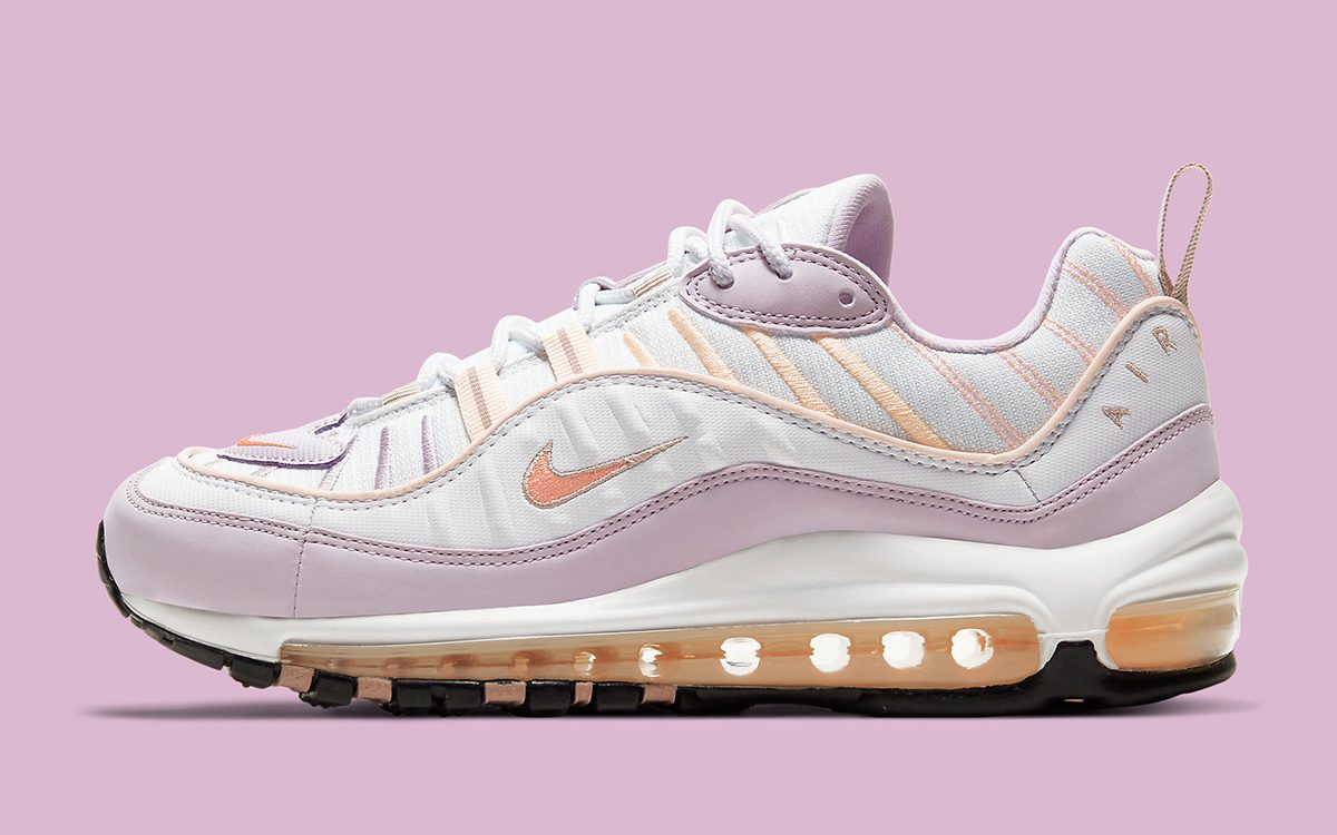 Atomic Pink Nike Air Max 90 Available Now // Nike Air Max 98