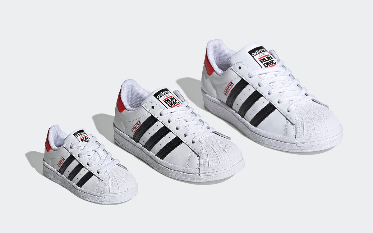 Run DMC x adidas Superstar to Releases July 18th