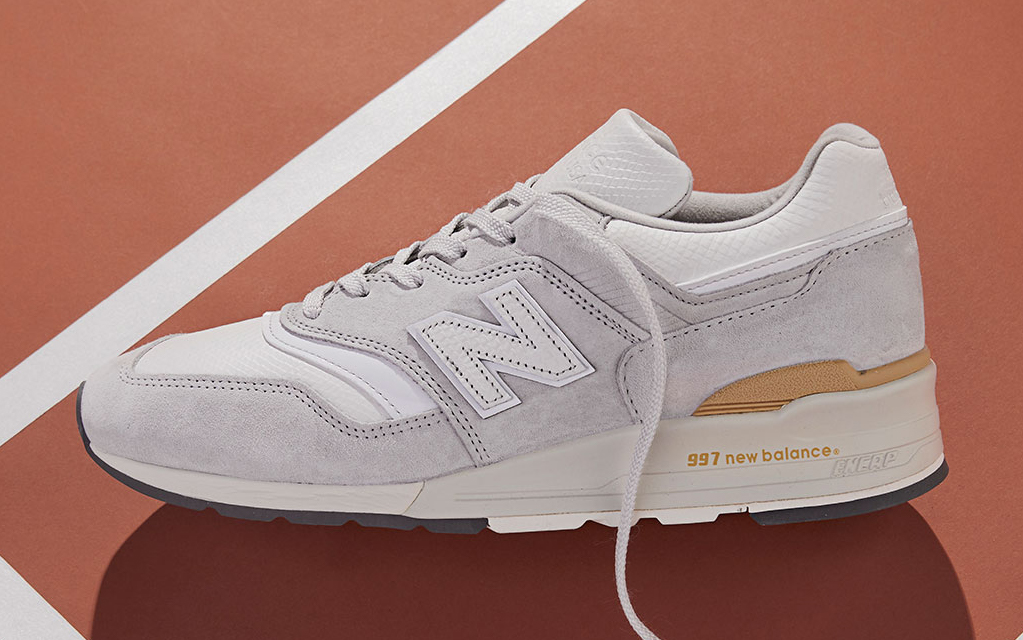 """Available Now // Todd Snyder x New Balance 997 """"Chalk Stripe"""""""