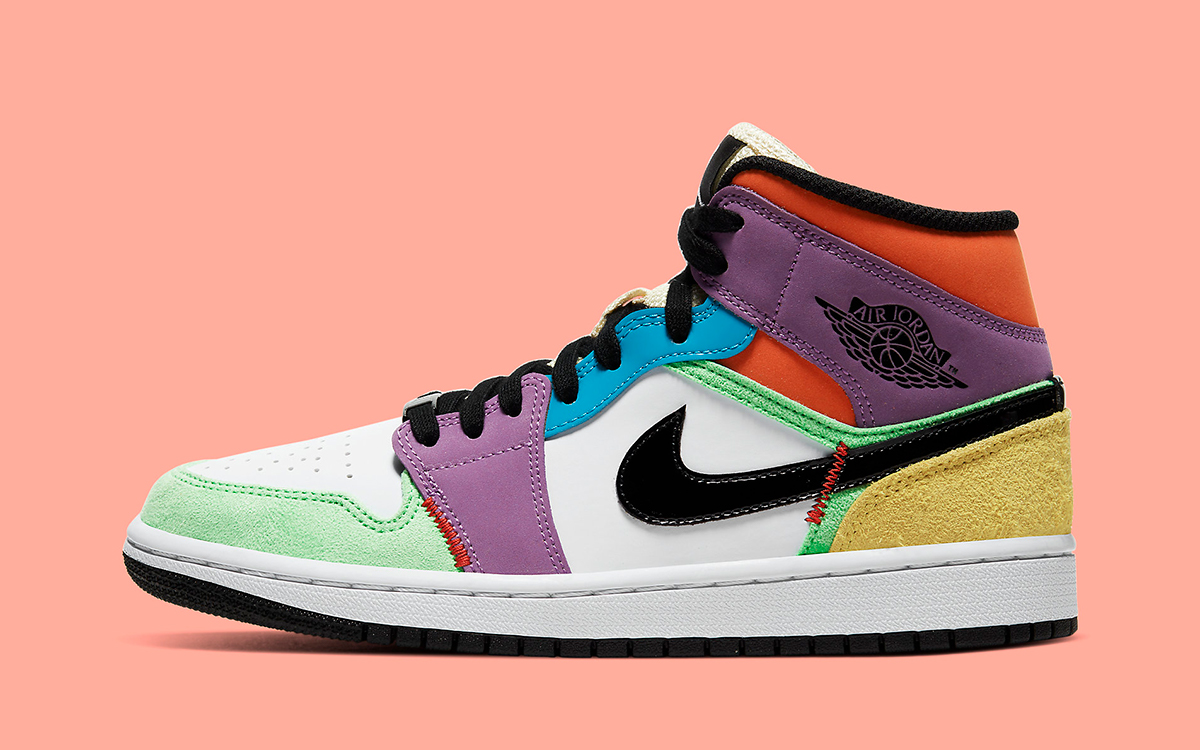 Where to Buy the Mismatched Air Jordan 1 Mid