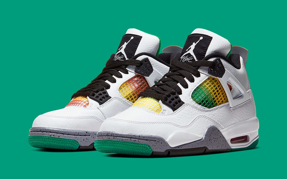 "Where to Buy the Air Jordan 4 ""Rasta"""