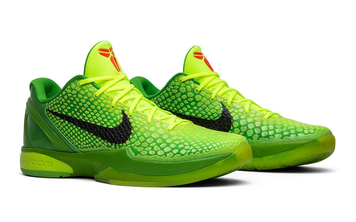 "Nike Kobe 6 ""Grinch"" Returning for 10th Anniversary"