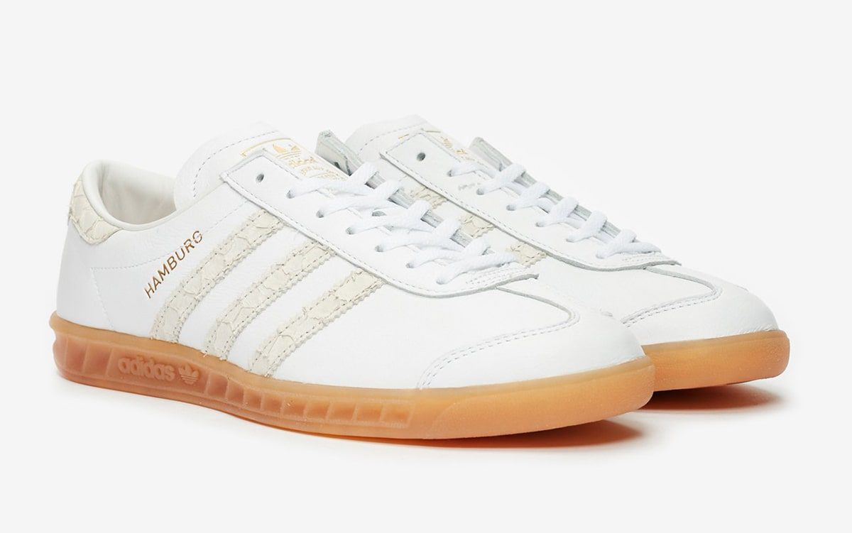 Available Now // adidas Hamburg With Off-White Snakeskin