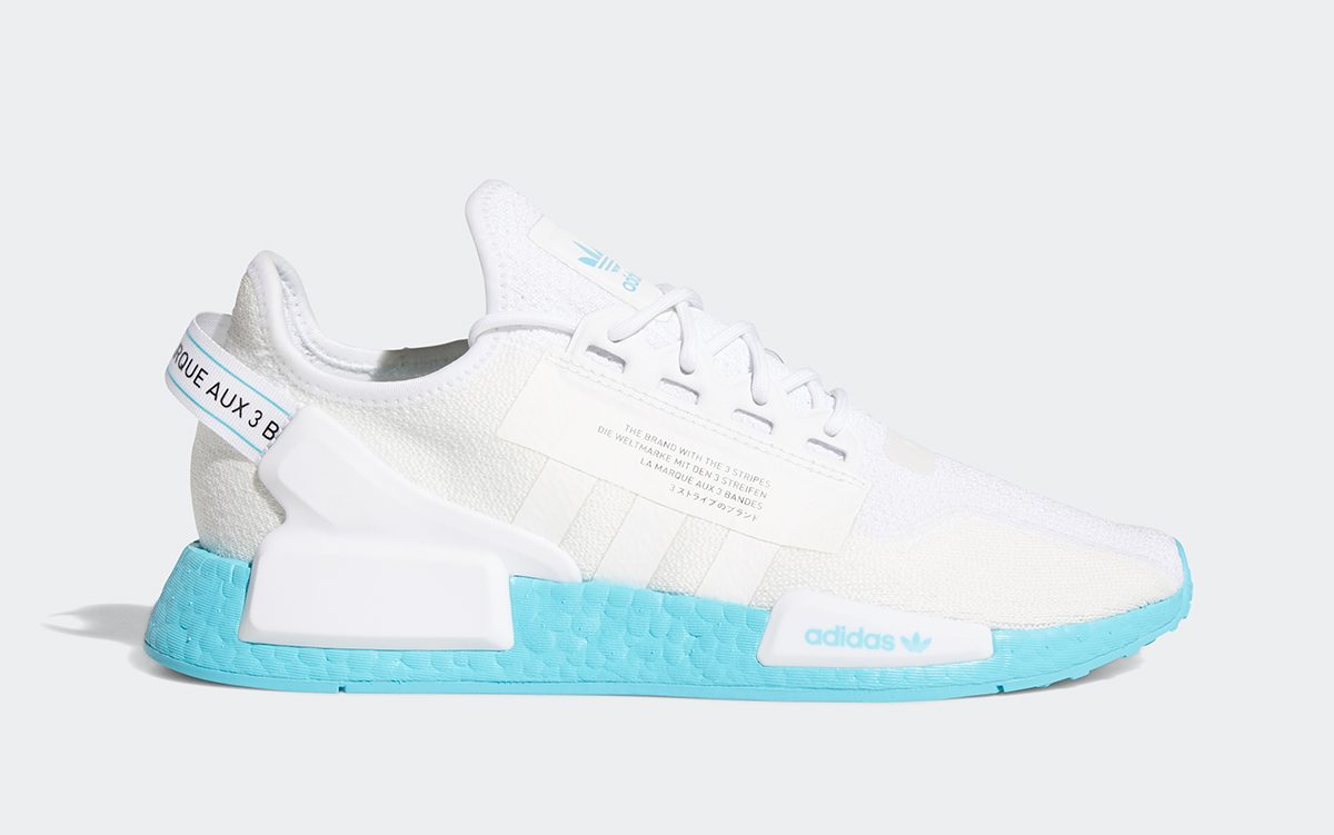 Two Color-Soled adidas NMD_R1 V2s Just Dropped!