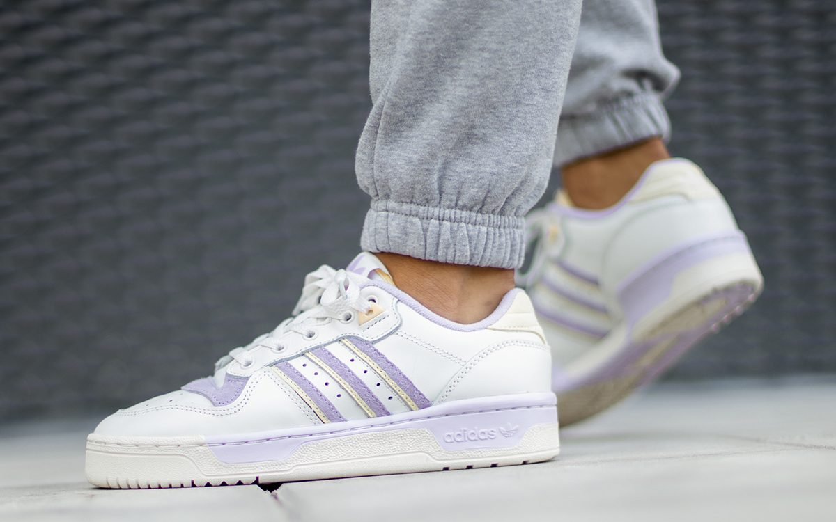 """Available Now // adidas Rivalry Low """"Purple Tint"""""""