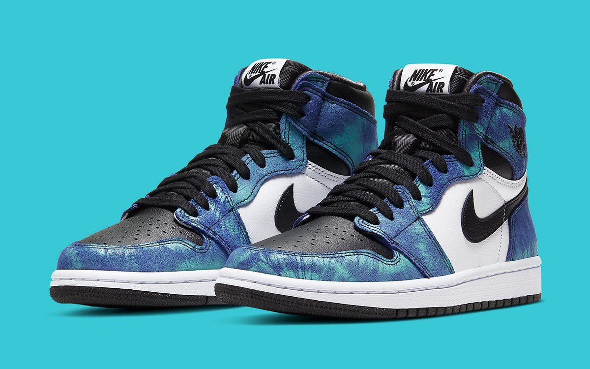 Where To Buy The Tie Dye Air Jordan 1 High House Of Heat Sneaker News Release Dates And Features