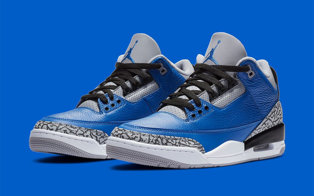 "Air Jordan 3 ""Varsity Royal"" Expecting a U.S. Release in October"