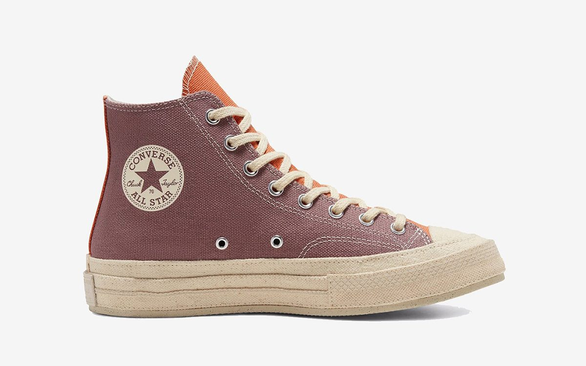 Converse Chuck 70 Duo Comes Covered in Canvas