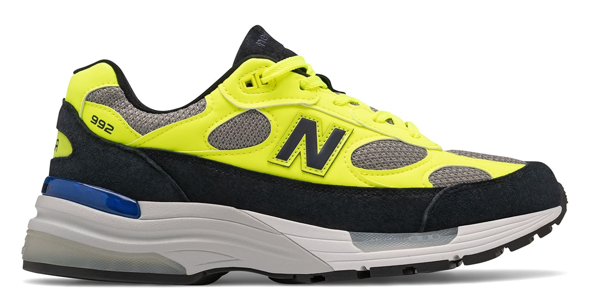 Available Now // New Balance 992 in Volt, Fawn and Black | HOUSE ...