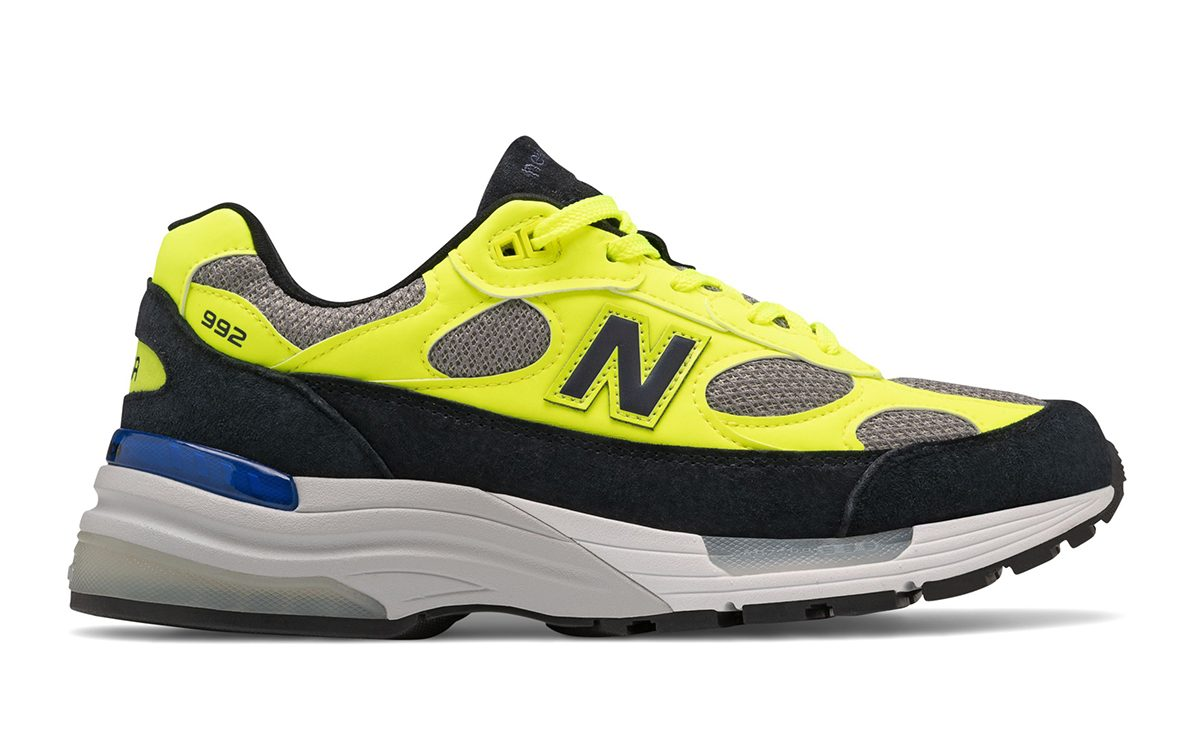 New Balance 992 Appears in New Volt, Fawn and Black Colorway