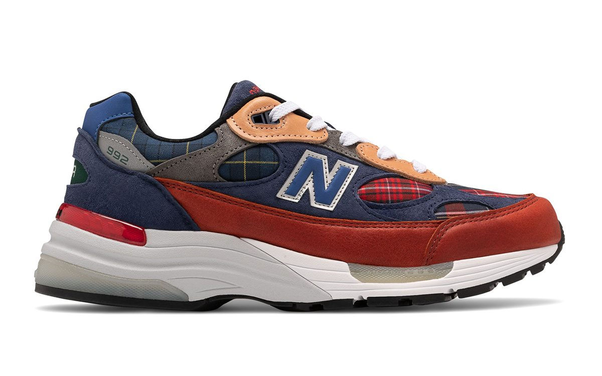 New Balance Adds Plaid Patchwork to the