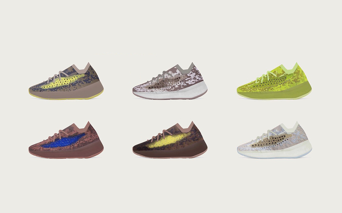 Six New YEEZY 380 Colorways Just Leaked