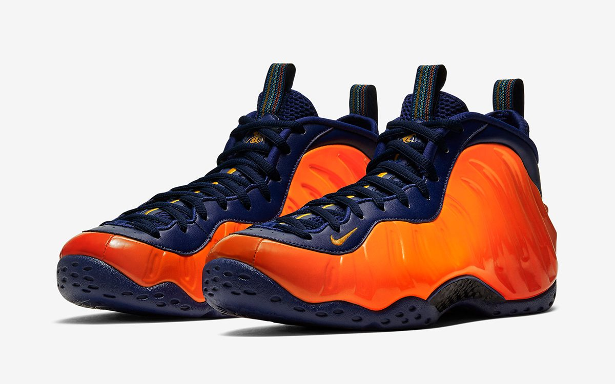 Air Foamposite One GS Habanero Red habanero red black
