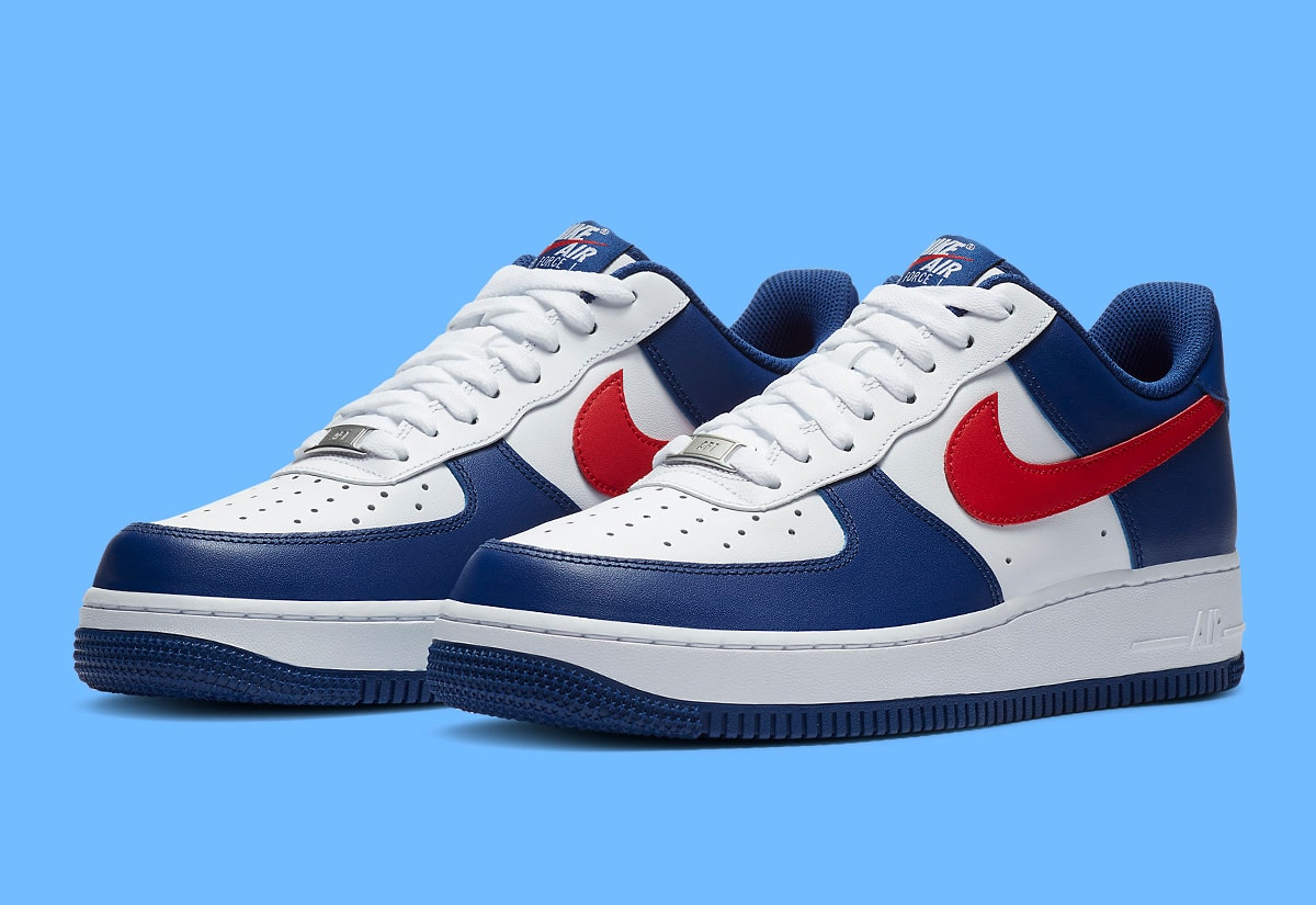 Available Now Nike Air Force 1 Low Usa House Of Heat Sneaker News Release Dates And Features