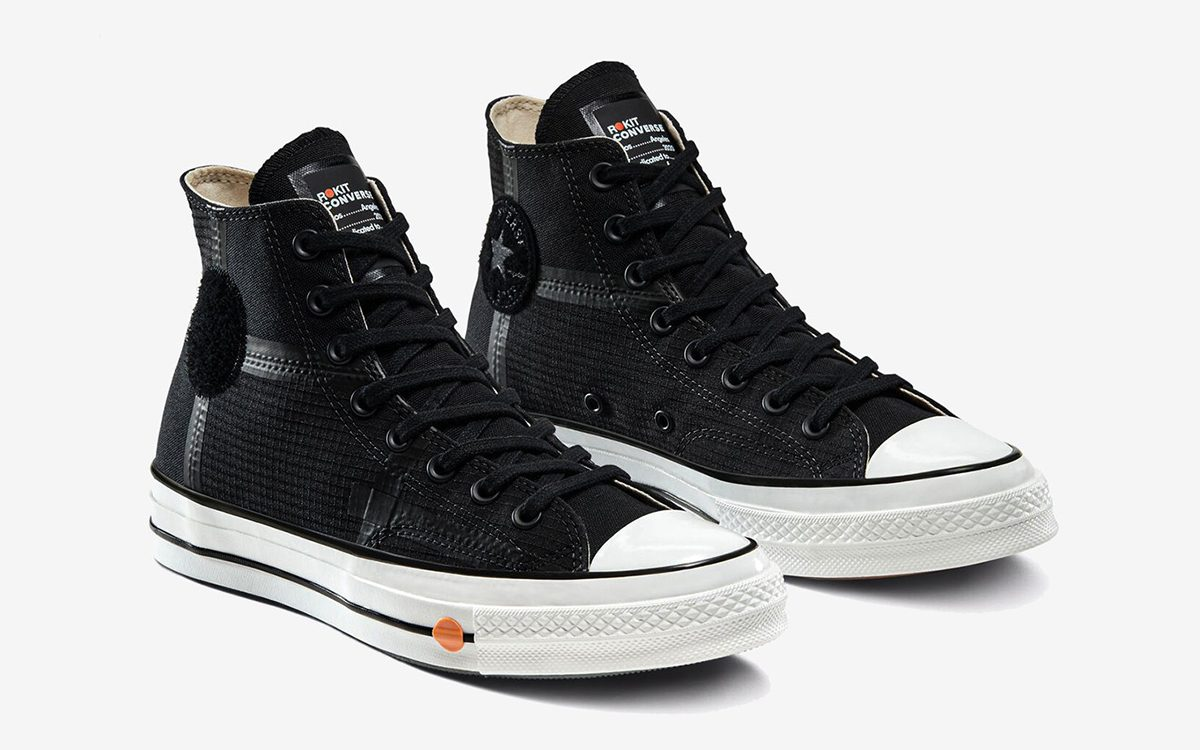 ROKIT x Converse Chuck 70 Collab Inspired By Blacktop Basketball Courts of LA