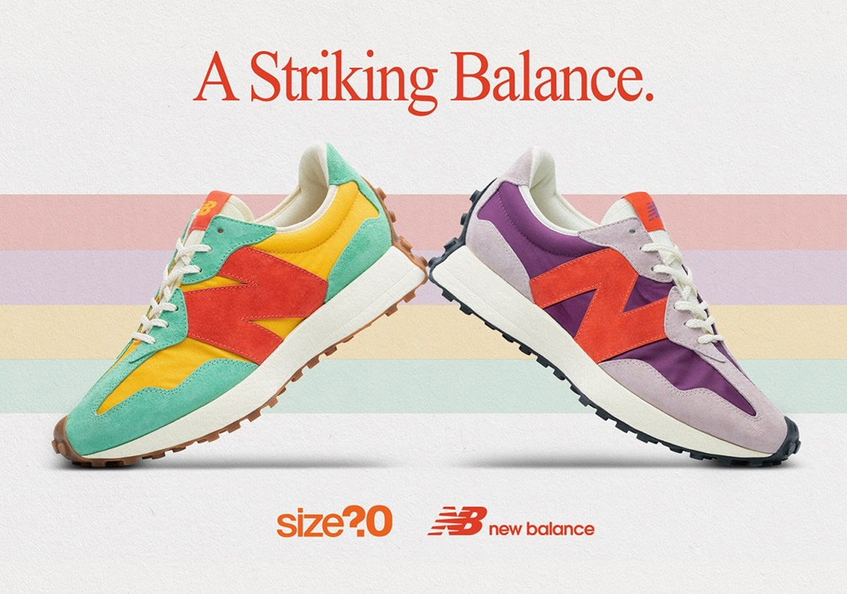 Detailed Looks at the size? x New Balance 327 Collaboration Have Arrived