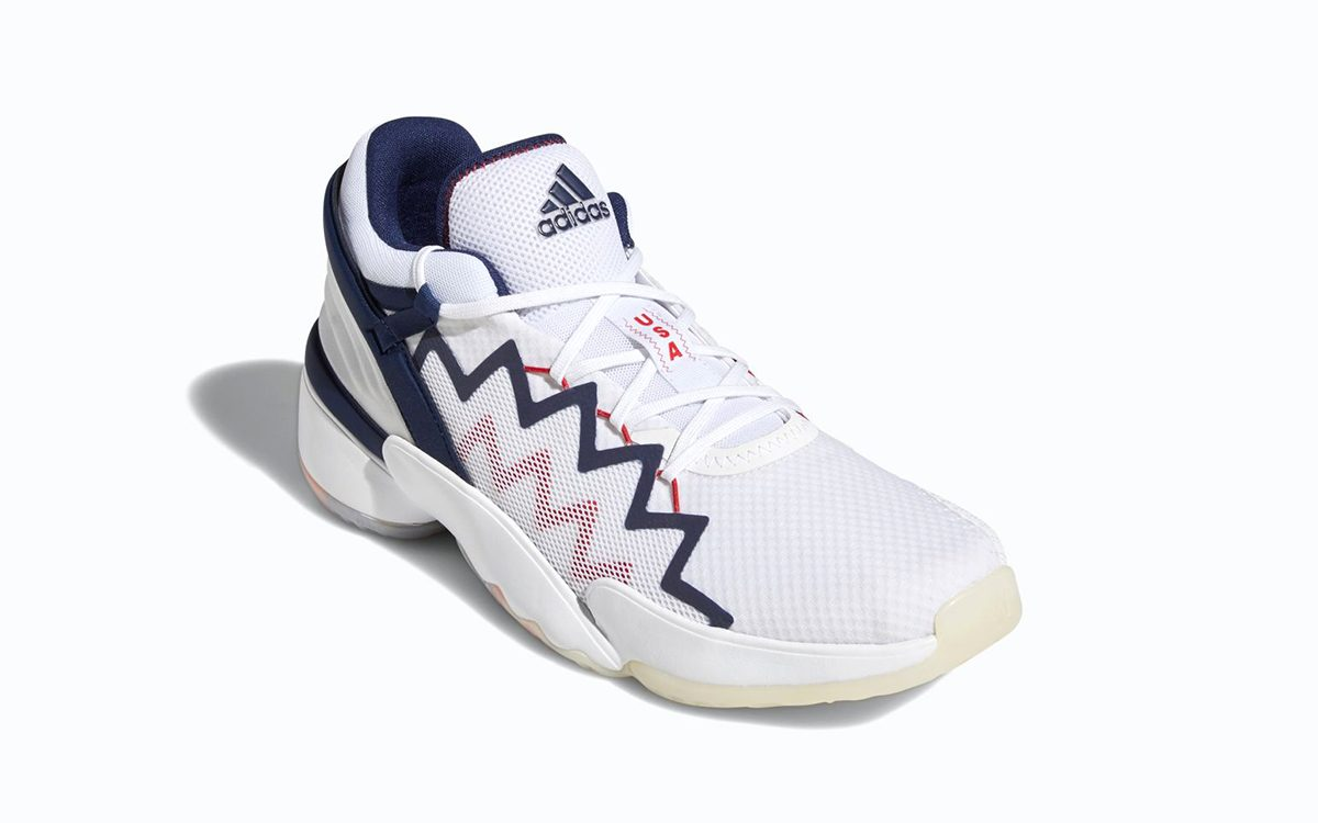 """adidas D.O.N. Issue #2 Unveiled in """"USA"""" Colorway"""