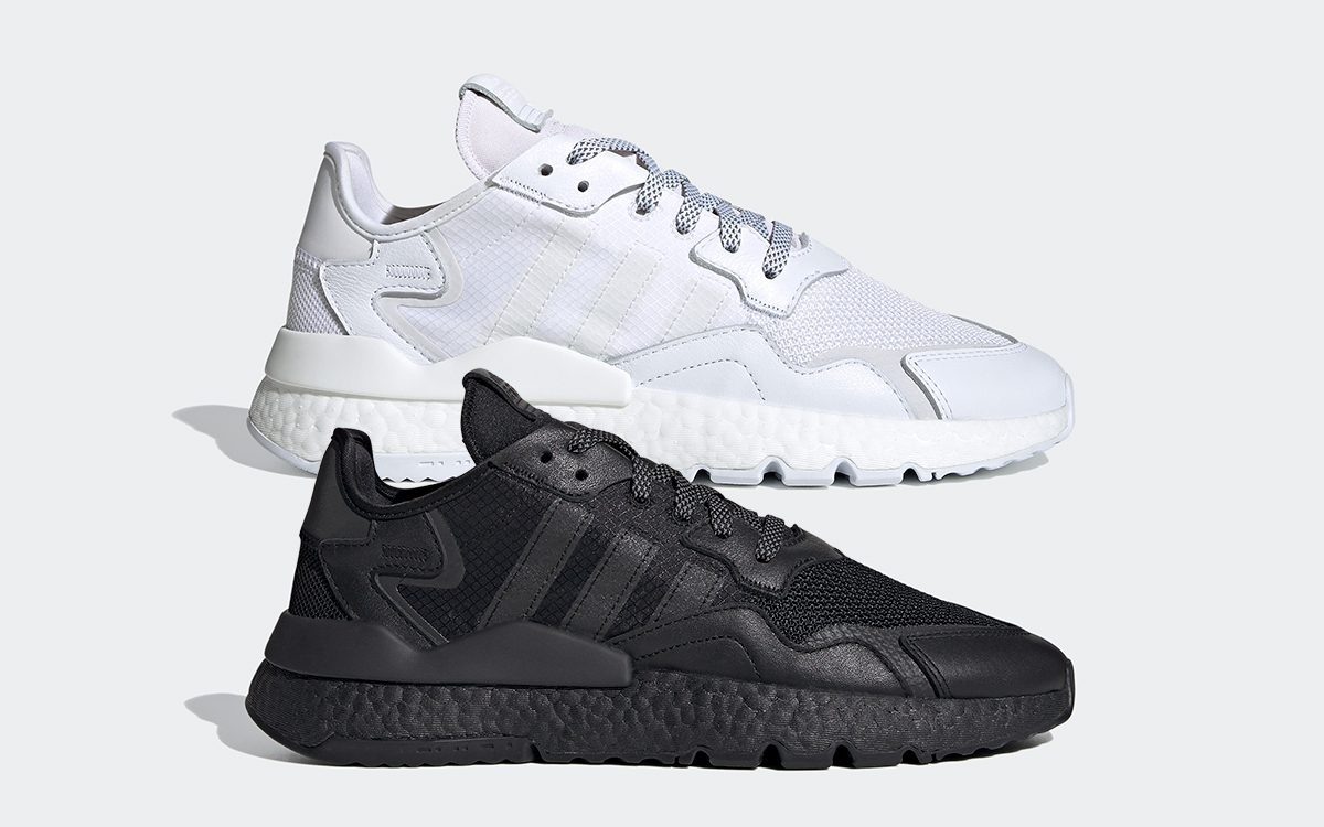 White and Black Reflective adidas Nite Joggers Arrive on June 7