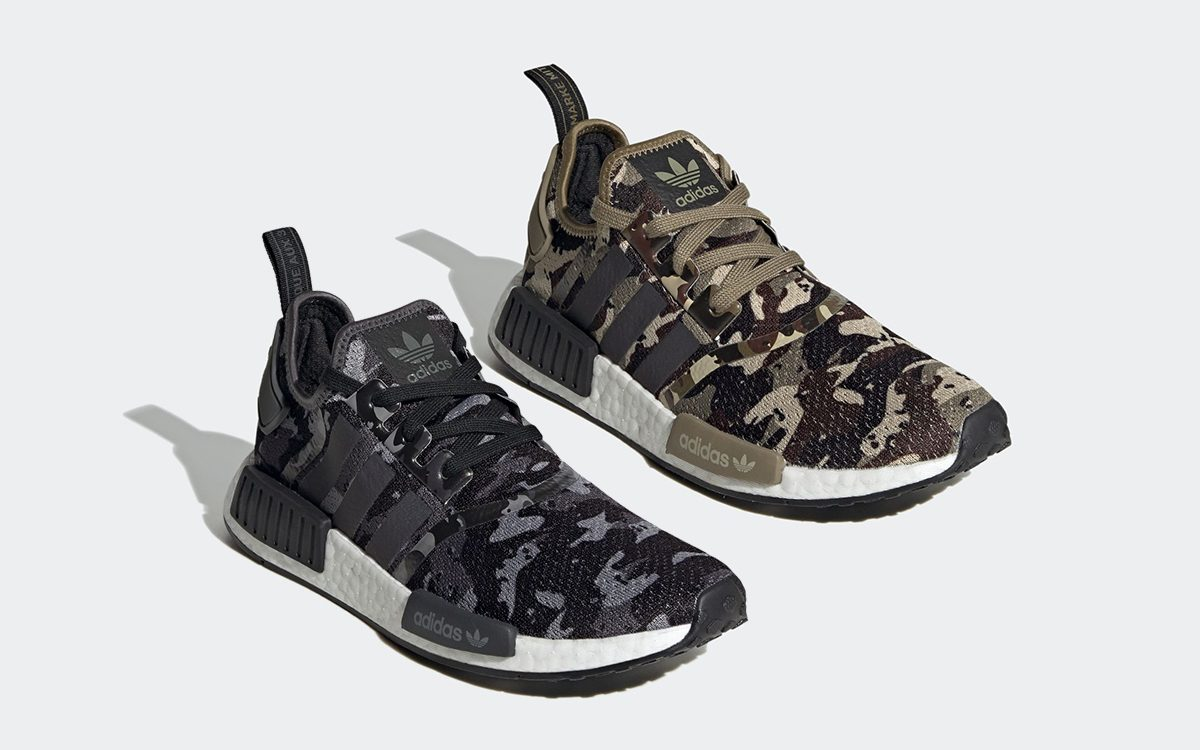 """adidas NMD R1 """"Camo Pack"""" Arrives August 7th"""