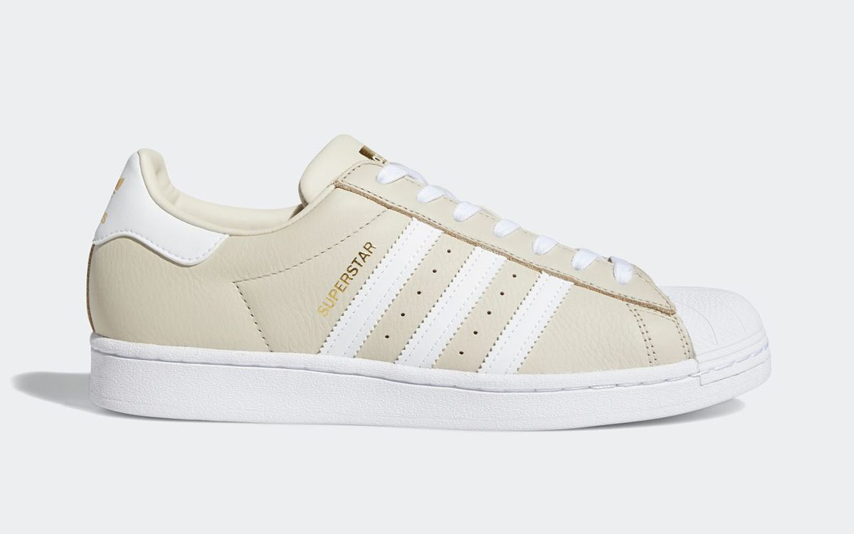 "adidas Elevate the Superstar with an Elegant ""Clear Brown"" Colorway"