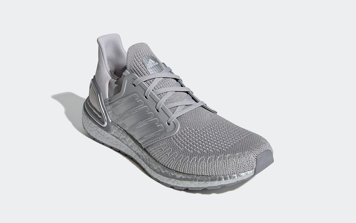 """Available Now // adidas Ultra BOOST 20 """"Silver Medal"""""""