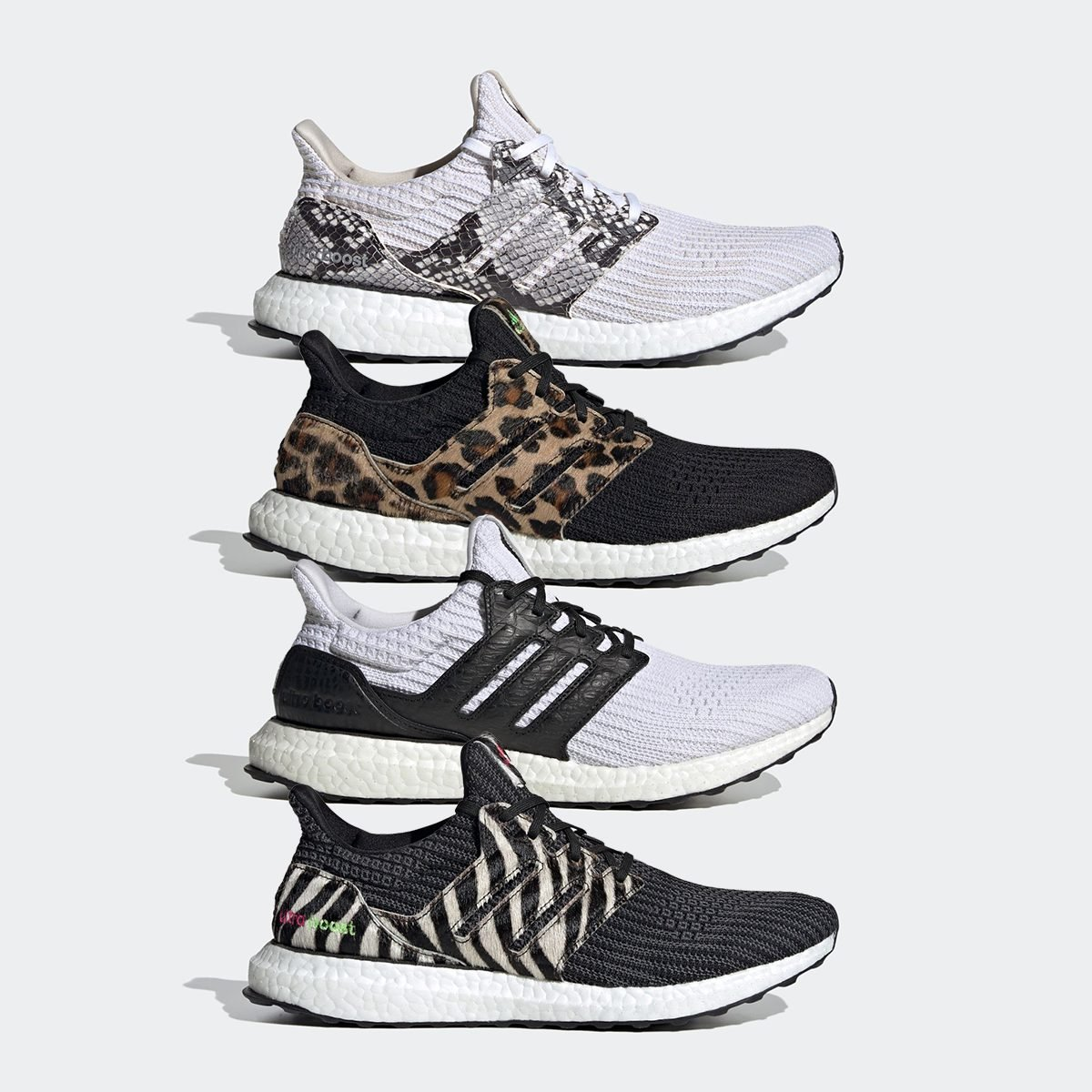 "adidas Goes Wild on the Ultra BOOST ""Animal Pack"""