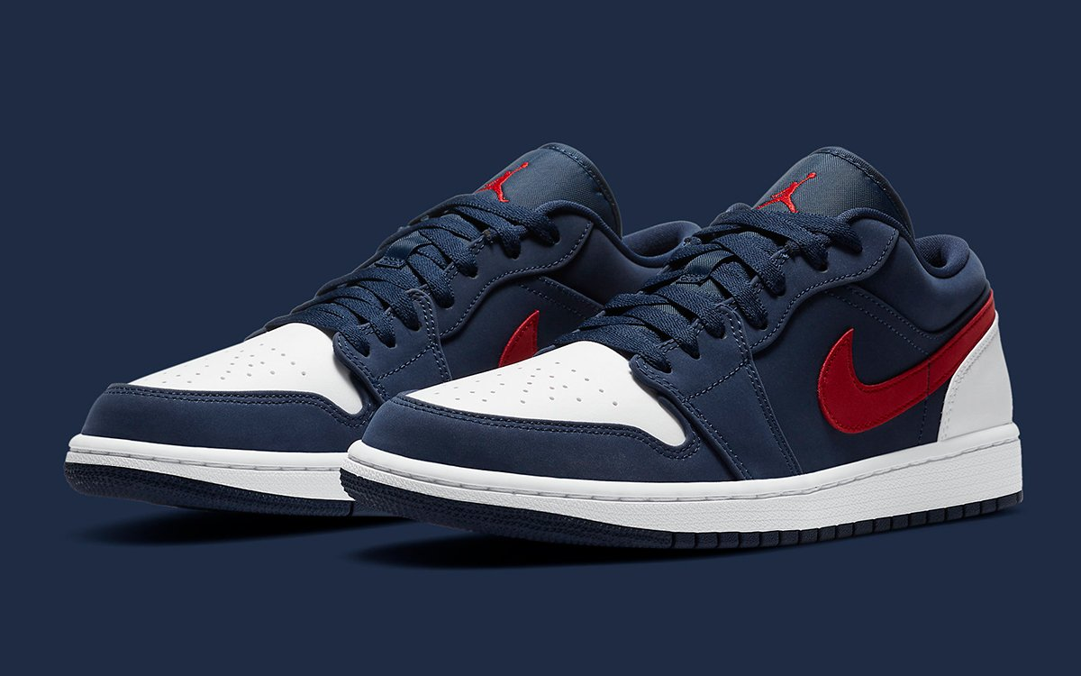 Available Now Air Jordan 1 Low Usa House Of Heat Sneaker