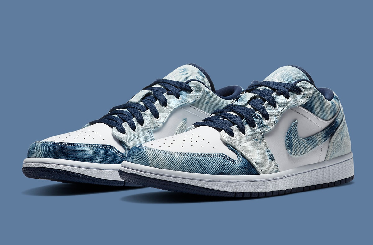 """Air Jordan 1 Low """"Washed Denim"""" on the Way! 