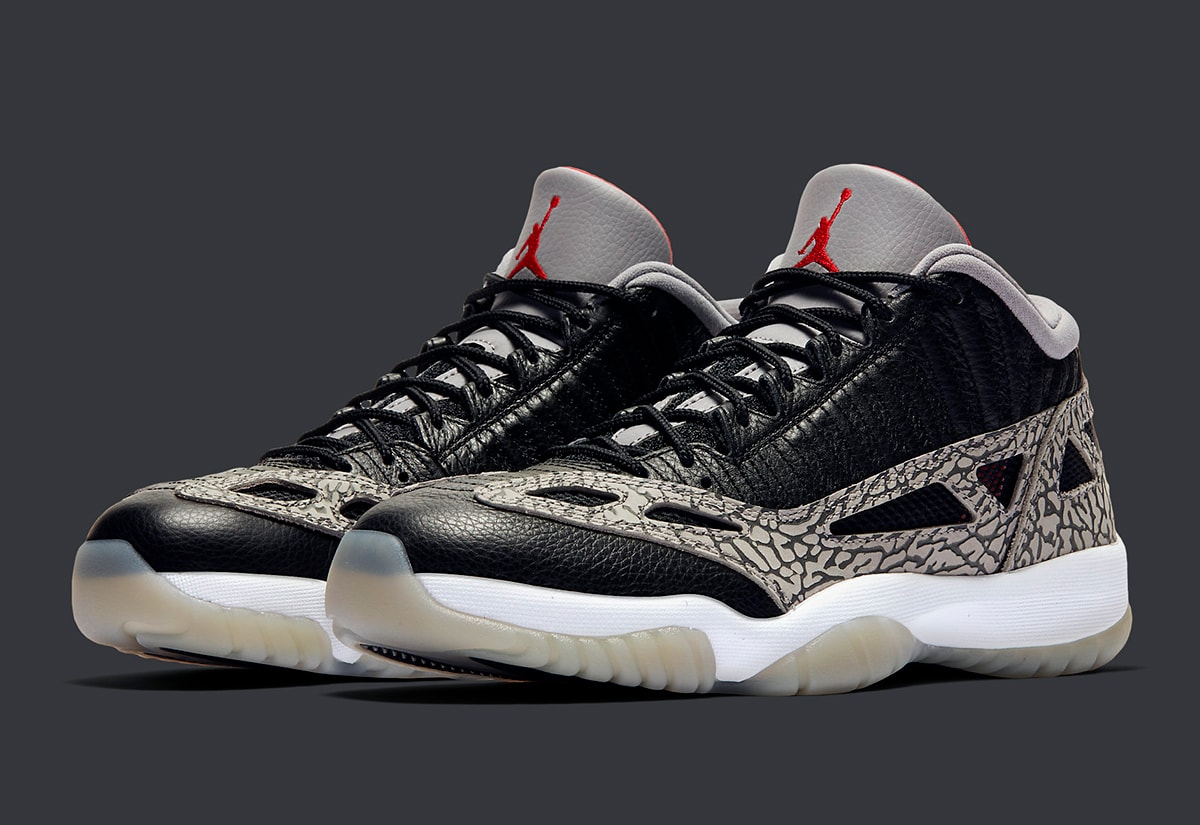 Where To Buy The Air Jordan 11 Low Ie Black Cement House Of
