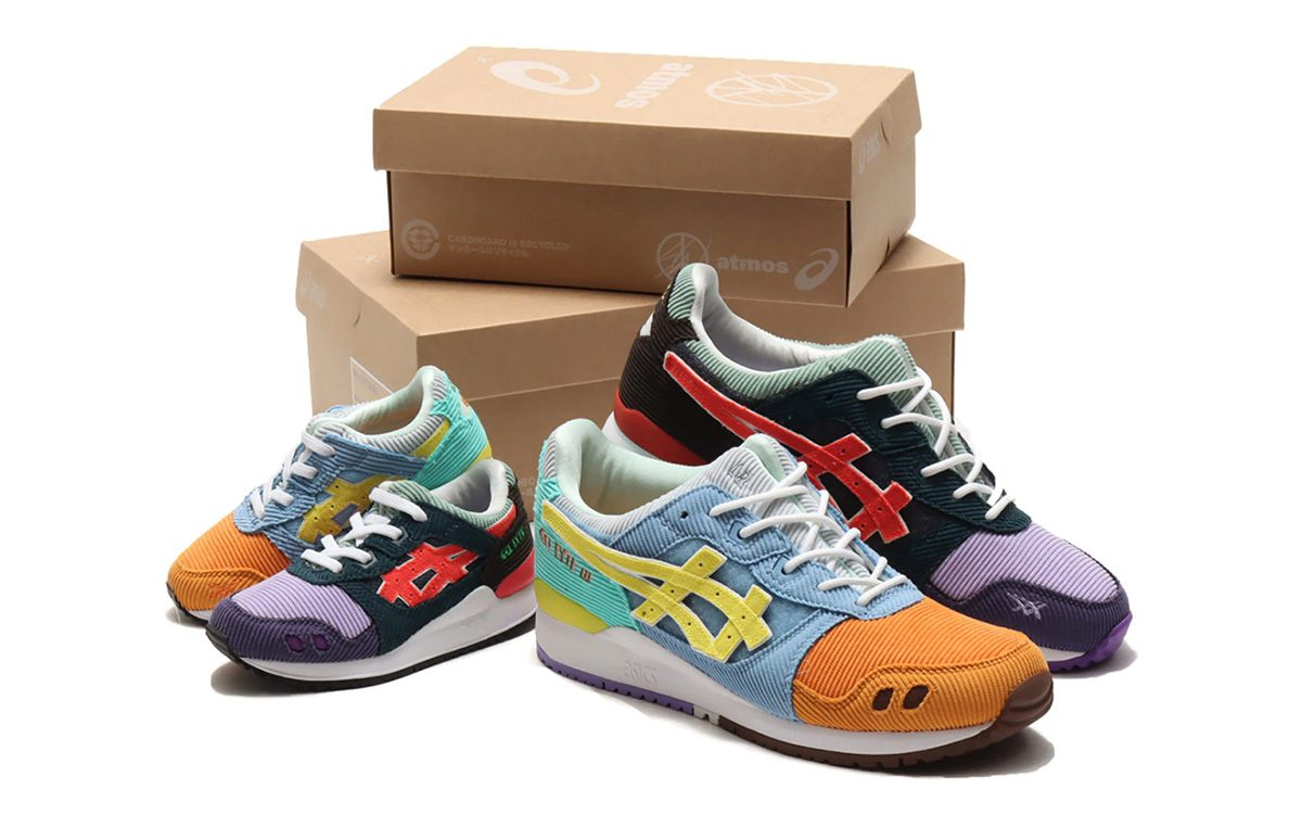 Sean Wotherspoon x atmos x ASICS GEL-Lyte III Releases Again on August 14th