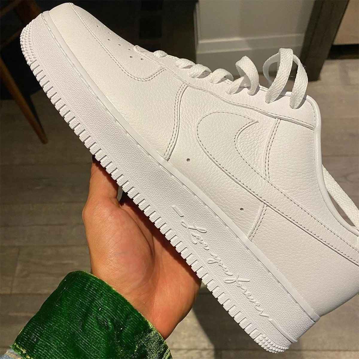 First Looks // Drake x Nike Air Force 1 Low