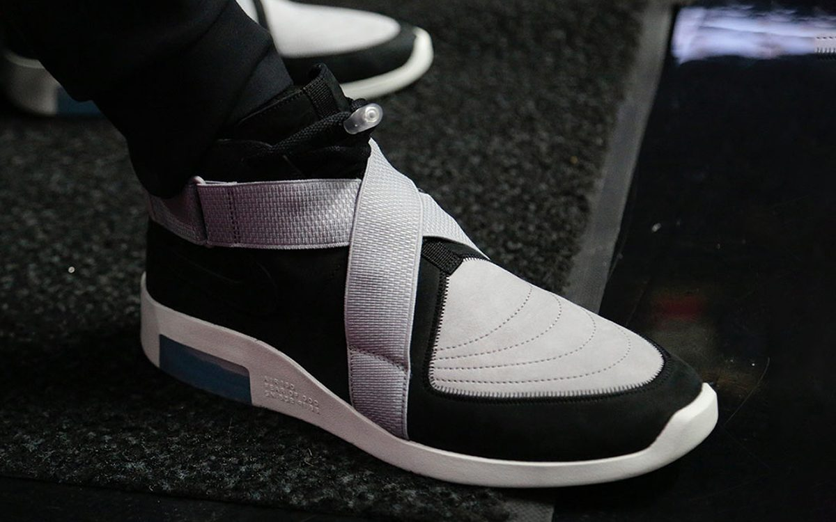 "Detailed Looks at the ""Black/Grey"" Nike Fear Of God Air Raid"