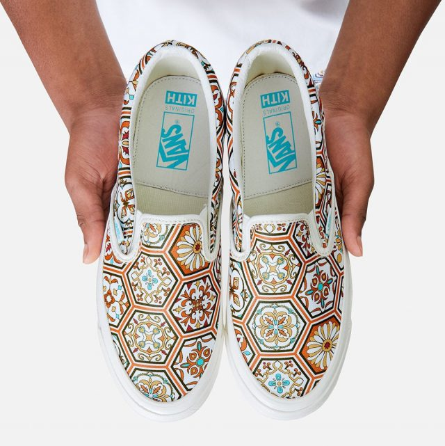KITH x Vans Slip-On Arrives Infused with Moroccan Tile Inspiration