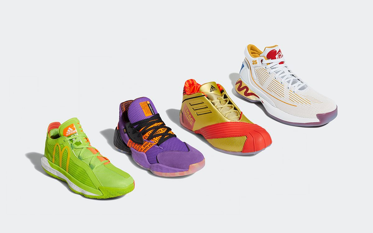 McDonald's x adidas Hoops Pack Releases July 4th