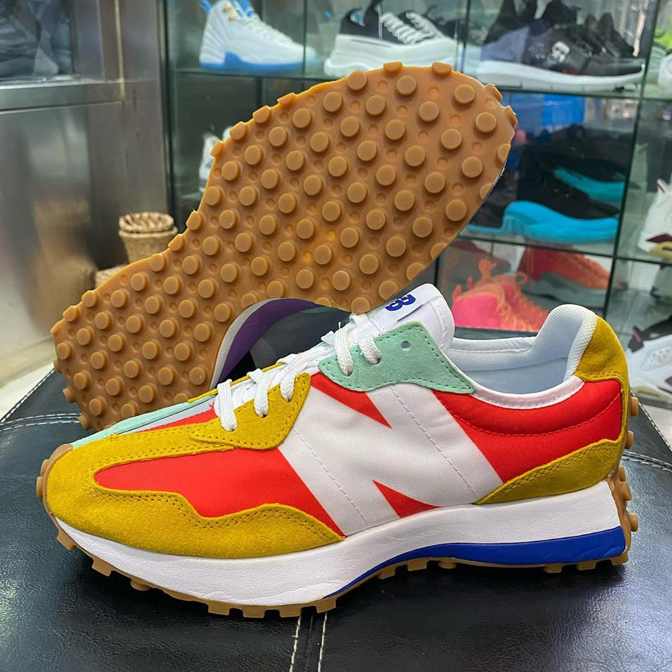 """Split-Blocked New Balance 327 """"Neo Flame"""" Releases July 25th"""