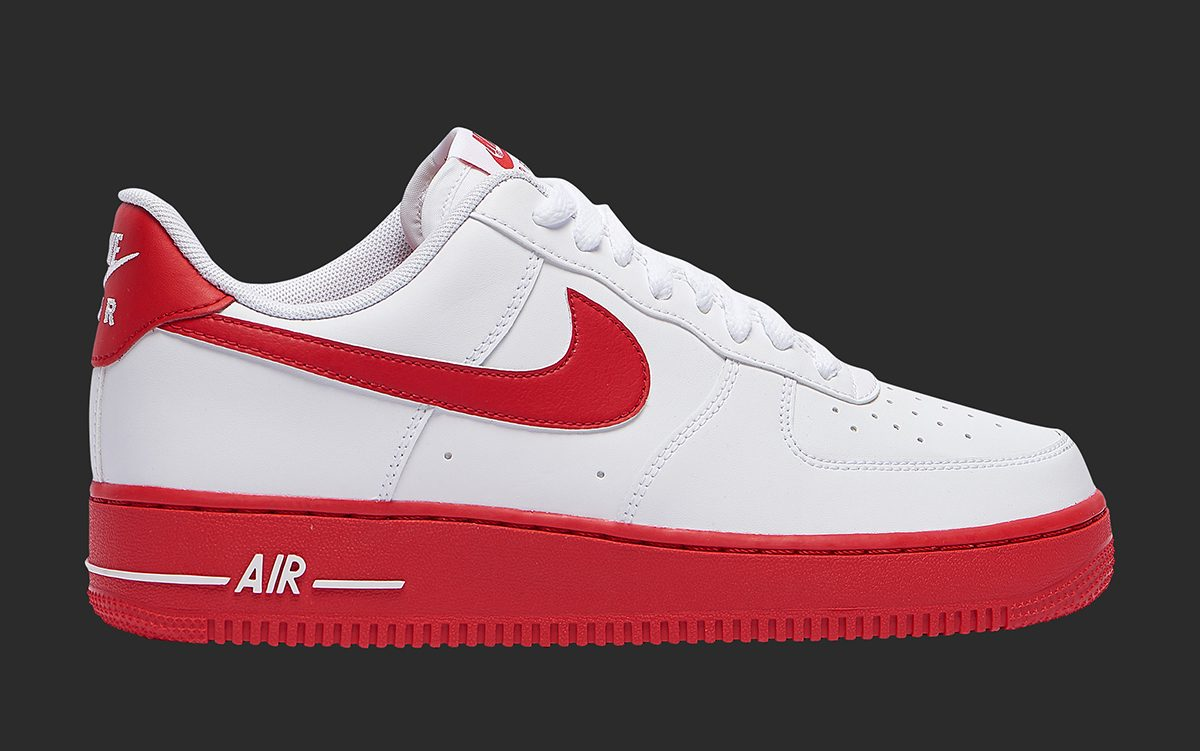 Available Now Red Soled Air Force 1 Lows Just Dropped House