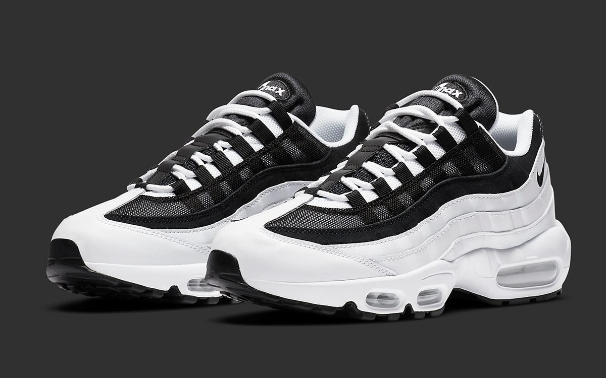 Available Now Air Max 95 Black And White Pack House Of Heat